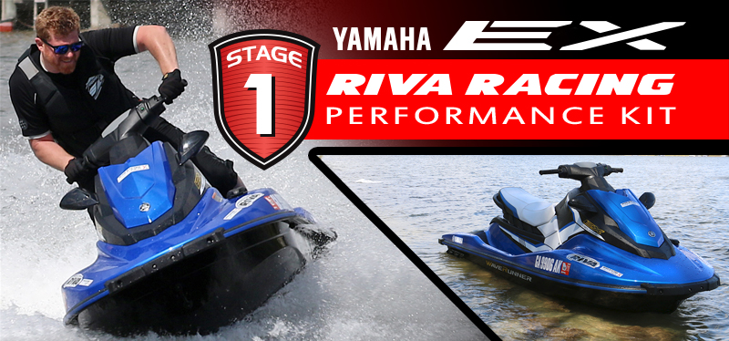 Ex Machina: RIVA's Yamaha EX Waverunner Stage 1 Kit