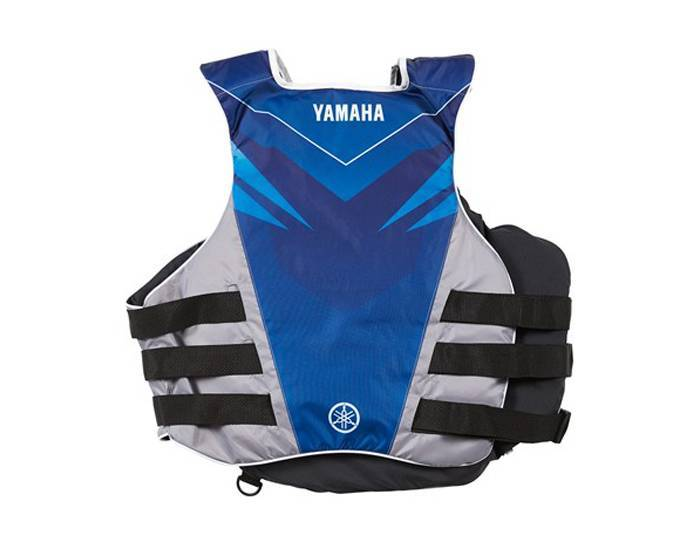 Yamaha Nylon Side-Entry PFD Blue