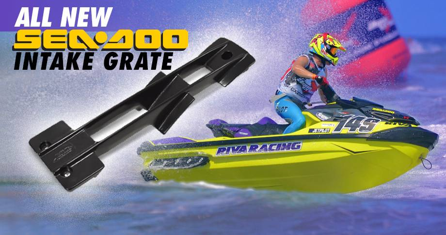 ALL NEW SEA-DOO 2018+ RXT/GTX & 2020+ GTR/GTI TOP-LOADER INTAKE GRATE!