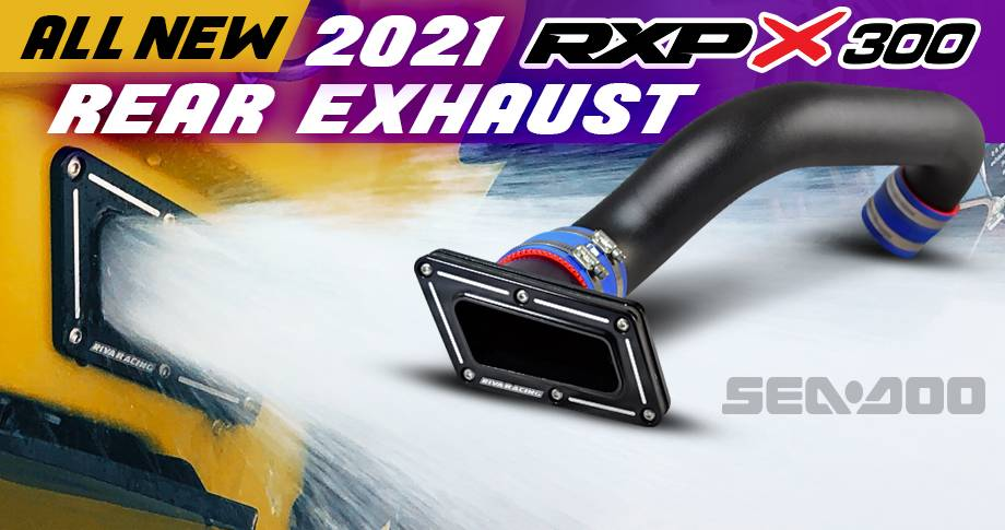 ALL NEW RIVA SEA-DOO 2021 RXP REAR EXHAUST KIT!