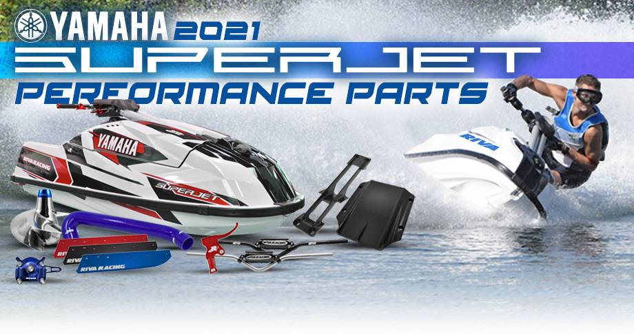 Shop New 2021 Yamaha SuperJet Performance Products!