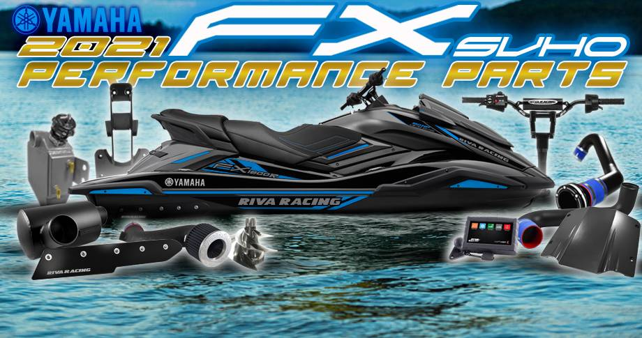 Shop New 2021 Yamaha FX Performance Products!