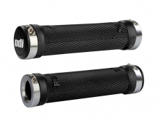 ODI - ODI Ruffian Lock-On Grips, 130mm, No Flange, Black
