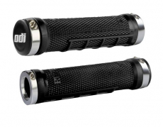 ODI - ODI Ruffian MX Lock-On Grips, 130mm, No Flange, Black