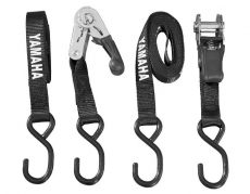 Yamaha Genuine - Yamaha Ratcheting Tie Downs - Black
