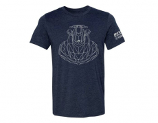 RIVA Racing - RIVA Yamaha FX Iconic Tee  - Navy - Large