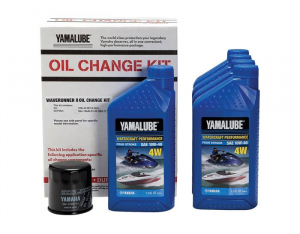 Yamaha Genuine - Yamalube Watercraft Oil Change Kit (all 4-cylinder except 1.8L)