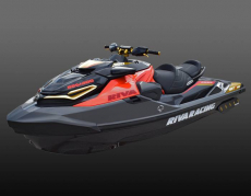 RIVA Racing - 2019 RXT-X 350 - Black/Lava Red - Image 3