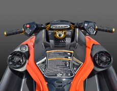 RIVA Racing - 2019 RXT-X 350 - Black/Lava Red - Image 6