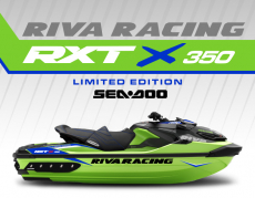 RIVA Racing - RIVA Racing 2020 Sea-Doo RXT-X 350 Limited Edition - Green/Blue - Image 1