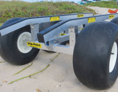 "BigFoot - Big Foot Beach Dollie 4 Wheel Transporter(21"") - Image 2"