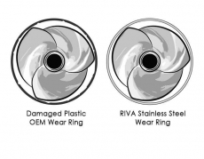 RIVA Racing - RIVA Yamaha 160mm Stainless Steel Wear Ring (Replaces OEM # 6ET-51312-00-00) - Image 7